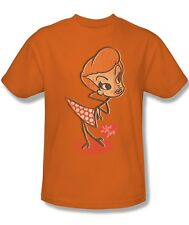 I Love Lucy Show Lucy as Vintage Cartoon Doll Distressed Tee Shirt Adult S-3XL