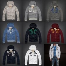 New  Abercrombie by Hollister Men Hoodie Jacket Size:  (S M L XL)
