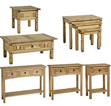 Coffee Tables Pine Corona Lamp Occasional Living Room Furniture Console Hallway