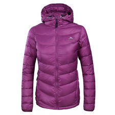 Womens Light Weight Goose Down Cotton Jacket Puffer Hooded Winter Outerwear Coat