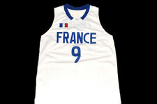 CUSTOM NAME AND NUMBER TEAM FRANCE JERSEY PARKER NEW WHITE - ANY SIZE