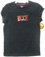 New Girls sequin Boo! T-shirt top Halloween sizes M, L
