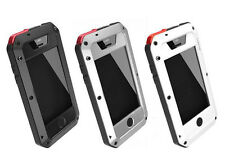 Luxury Aluminium Iphone 5/5S Water Resistant Shock Proof Hybrid Defender Case