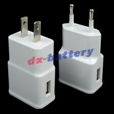 2A EU/US USB Travel Wall Charger Power Adapter For Samsung Galaxy N7100 Note2 II