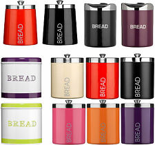 Amazing New Bread Bins New Style Various Colours and Designs Stainless Steel