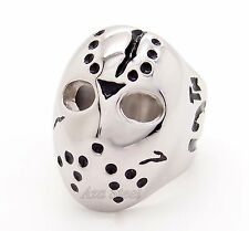 Men's Friday the 13th Jason's Mask Stainless Steel Ring