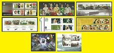 2013 Miniature Sheet Issues of Great Britain each Sold Separately Mint nh