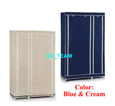 Single Brand New Easy to assemble Portable Wardrobe Large Space Storage