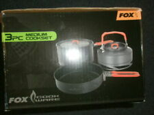 FOX COOKWARE SET.KETTLE, STOVE , WINDSHIELD  etc!  carp !!