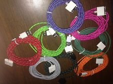 3 meter Fabric braided USB Data Sync & Charger cable for Iphone 4 4S Ipad12