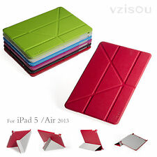 Slim PU LEATHER CASE SMART COVER STAND FOR New APPLE iPad 5 iPad Air 2013