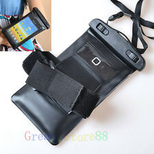 Waterproof & Armband Dry Bag Skin Case Cover FOR NOKIA Lumia 2013 Latest Model