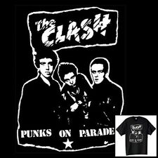 The Clash T-Shirt Vintage Style Retro Punk Rock Size S-6XL