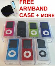 8GB Slim Mp3 Mp4 Player 1.8 LCD Screen 4rd FM Radio Video Games & Movie 8 Colors