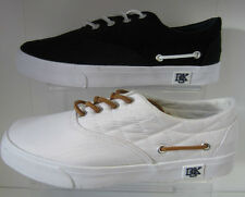 Mens Deakins White/ Navy Lace Up Shoes  Bakare