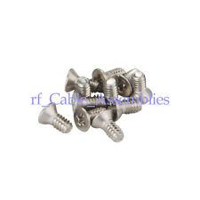 Thumb Screw 8-32 Stainless steel cross Countersunk Machine Screws Bolts QTY 100