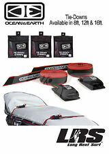 NEW Ocean & Earth Surfboard TIE DOWNS  Straps Secure Surf Board etc.