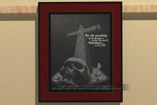 Pictures of 1000 Words: Preaching Foolishness? [skull cross unique gift text art