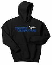 POPPIN THROTTLES GLAMIS SAND DUNES HOODIE SWEAT SHIRT SAND CAR RAIL BUGGY JUMPER