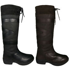 Ladies Mens Riding Walking Farm Regular/Wide Wellington Country Boots Size 3-10