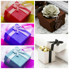 "200 pcs 2x2x2"" Wedding Party Favors Boxes with Removable Lid - Free Shipping"