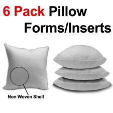 Pillow Form/Insert (Polyester Filled) - 6 Pack