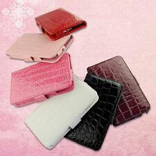 Magnetic Crocodile Grain Leather Cover Case For Samsung Galaxy Note i9220 N7000