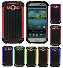 Hard plastic Silicone Case Phone Cover Skin for Samsung Galaxy S3 III i9300