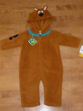 Toddler SCOOBY DOO Costume Dress Up Size 12 18 Months NWT dog boys girls brown