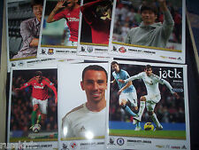 2012/13 SWANSEA HOME PROGRAMMES YOU CHOOSE