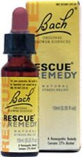 Bach Rescue Remedy Natural Stress Relief Homeopathic (2-Pack)