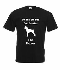On The 8th Day God creato il BOXER T-Shirt da uomo regalo di natale dog