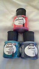 Pebeo Setasilk Fabric Silk Paint 45ml Pots