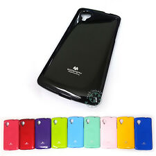 *Economy Shipping* MERCURY Goospery Pearl Jelly Case LG Google NEXUS 5 TPU Cover