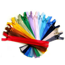 "Invisible Nylon Concealed Zip 7"" to 20"" Zippers 18 to 50 cm Choice of Colours"