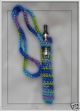 Crochet ego ecig electronic cigarette vaporizer holder lanyard necklace HC