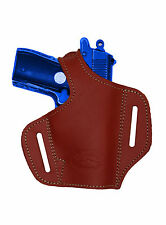 NEW Barsony Burgundy Leather Pancake Gun Holster Walther SIG Mini-Pocket 22 25