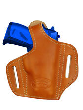 NEW Barsony Tan Leather Pancake Gun Holster Beretta Taurus Mini-Pocket 22 25 380