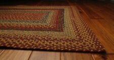 Homespice Four In Nine Patch Cotton Braided Area Rug Country Cottage Home Decor