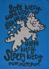 Big Bang Theory Soft Kitty, Warm Kitty...  Juniors T-Shirt  Officially Licensed