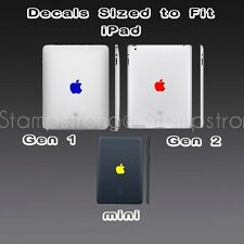 Apple Logo Skin Sticker Decal Vinyl Film for iPad Gen 1 2 iPad1 iPad2 MINI COLOR