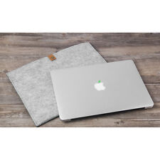 "Wool Felt Laptop Sleeve Case Notebook Bag For MacBook Air Pro Retina 11"" 13"" 15"""