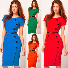 New Womens Sexy Stylish Pencil Bodycon Formal Evening Party Dress-ALD