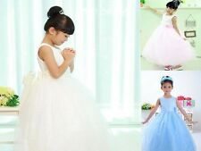 Holy Communion Pray Pageant Holiday Party Princess Girl Dresses SZ 3-11 YEARS