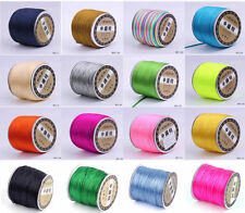 40m /Roll 1.8mm Nylon Chinese Knot Knotting Rattail Thread Beading Craft Cords