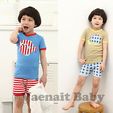 "2pcs NWT Vaenait Baby Toddler kid boy clothes outfit sleepwear sets ""Nemo_Snail"""