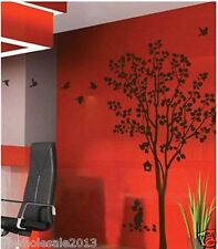 large tree and cat wall decal sticker living room decor high 220cm