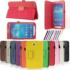 "PU Leather Folio /360 Case Cover for Samsung Galaxy Tab 3 7.0"" Tablet T210 P3200"