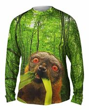 Yizzam- Wild Lemur Forest - New Mens Long Sleeve Tee Shirt XS S M L XL 2XL 3XL