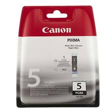 GENUINE CANON PIXMA BLACK PRINTER INK CARTRIDGE PGI-5BK / PGI5BK / 0628B001